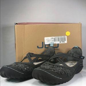 [171] Jambu Rosie Criss Cross Strap Sandals 9M